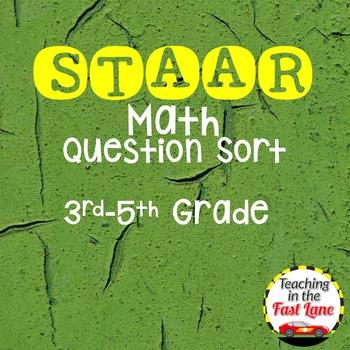 STAAR Math Questions Sort