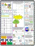 STAAR Math Readiness Standards Review Sheet 6th grade