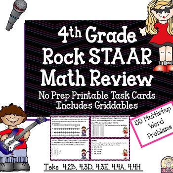 STAAR 4th Grade Math Review