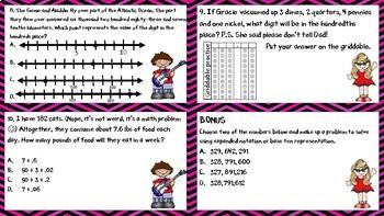 4th Grade Math Review STAAR