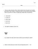 STAAR Math Review 1