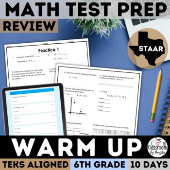 STAAR Math Review 6th Grade