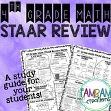 STAAR Math Review - 4th Grade