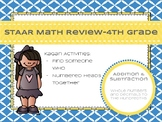 STAAR Math Review- 4th Grade Addition and Subtraction