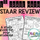 STAAR Math Review - 5th Grade