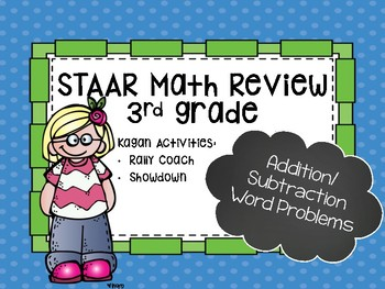 STAAR Math Review-Add/Sub Word Problems