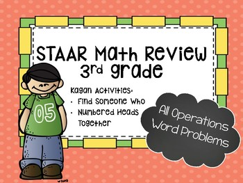 STAAR Math Review-All Operations Word Problems