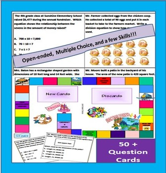 3rd Grade STAAR Review Board Game - New TEKS!