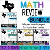 STAAR Math Review Bundle