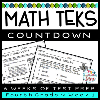 STAAR Math Week 1