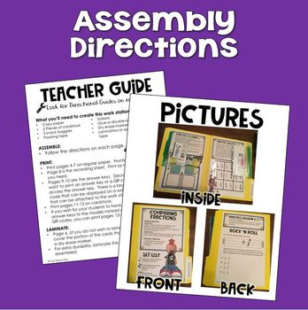 STAAR Test Prep Work Station Review Activity TEKS 4.3C and 4.3D