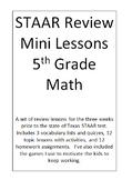 5th Grade Math STAAR Mini Lessons