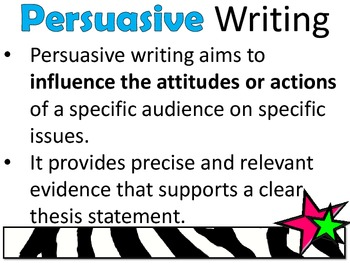 STAAR Modes of Writing