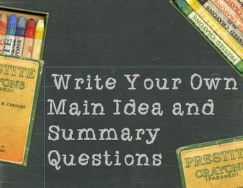 Book Title Worksheets : Main idea worksheets teaching resources teachers pay