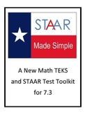 STAAR - New TEKS 7.3(A) and 7.3(B) by STAAR Made Simple