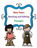 STAAR New Year's Grammar Passages: Revising Passage and Editing Passage
