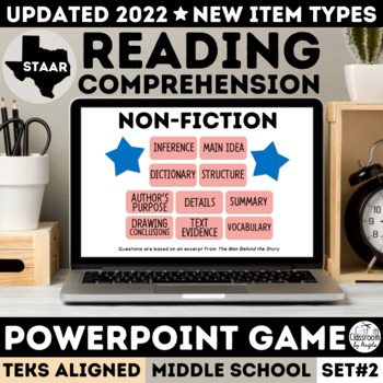 STAAR Non-Fiction PowerPoint Game