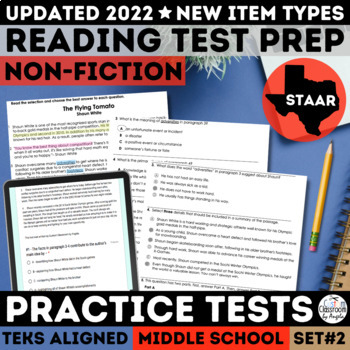 STAAR Non-Fiction Reading Passage Practice