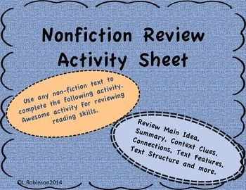 STAAR Nonfiction Review Page