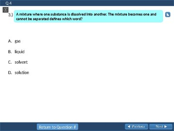 STAAR Online Science Test