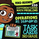 STAAR Operations ★ 3.4A-3.4K ★ TEKS-Aligned Math ★ 3rd Grade STAAR Math Practice