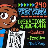 STAAR Operations ★ 4.4A 4.4B 4.4C 4.4D 4.4E 4.4F 4.4G 4.4H ★ STAAR Math Review