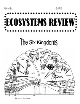 STAAR Organisms Review booklet