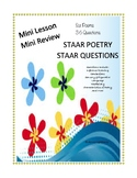 STAAR POETRY MINI REVIEW: 6 POEMS & 36 STAAR QUESTIONS