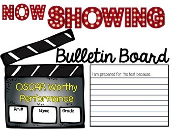 STAAR Parent Night and Bulletin Board Activities- HOLLYWOOD STAAR