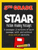STAAR Passages- Reading Fifth Grade