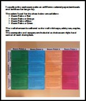 STAAR Personal Narrative Rubric Wall Chart