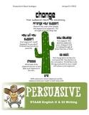 STAAR Persuasive Essay Acronym Graphic