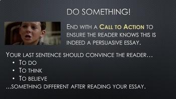 STAAR Persuasive Essay Process
