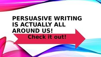 STAAR Persuasive Writing Review