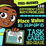 STAAR Place Value ★ 3.2A-3.2D ★ TEK-Aligned Math ★ 3rd Grade STAAR Math Practice
