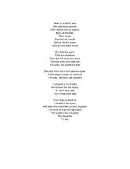 STAAR Poetry #6