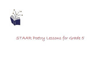 STAAR Poetry Lessons - Grade 5