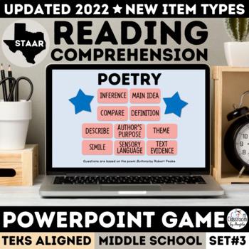 STAAR Poetry PowerPoint Game
