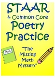 "STAAR Poetry Practice- ""Missing Math Mystery"""