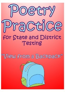 """STAAR Poetry Practice- """"View from a Backpack"""" by ..."""