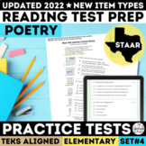 STAAR Poetry Reading Passages | PDF & Google Forms | New TEKS