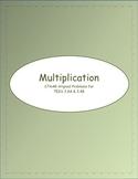 3rd STAAR Multiplication TEKS 3.4A & 3.4B (New TEKS 3.4F & 3.4K)