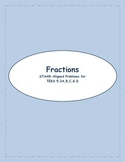 5th STAAR Fractions TEKS 5.2A,B,C, & D (New TEKS 4.3B, C, & D)