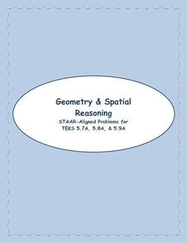 5th STAAR Geometry & Spatial Reasoning TEKS 5.7A, 5.8A, &