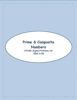 5th STAAR Prime & Composite TEKS 5.5B (New TEKS 5.4A)