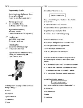 STAAR Practice 6th Grade Poetry by Rockin Out with Mrs ...