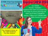 STAAR Practice-Foldable and Skills Algebra I, Category 1,