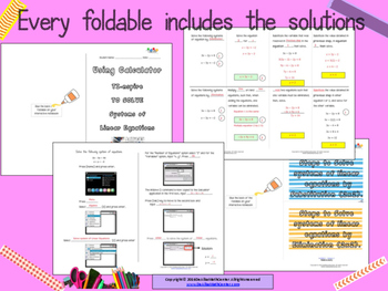 STAAR Practice-Foldable and Skills Algebra I, Category 3, TEKS A.5(C)