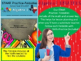 STAAR Practice-Foldable and Skills Algebra I, Category 5, TEKS A.9(D)