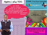 STAAR Practice-Foldable and Skills Algebra I, Category 5,